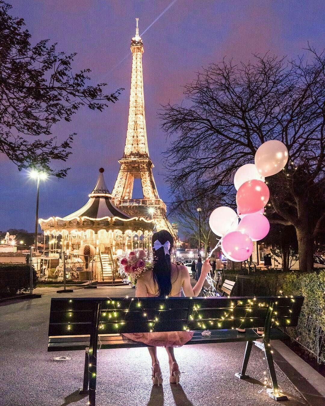 Pin Oleh Zulfitriyana Jayanti Di Wallpaper Menara Eiffel