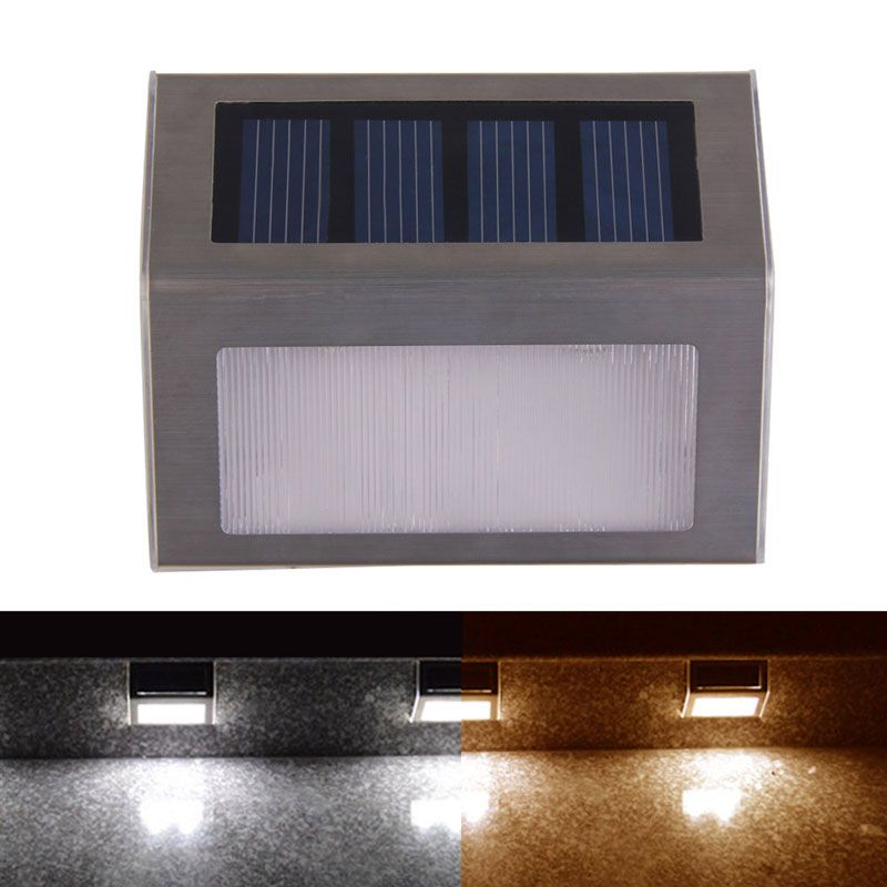 Cool Wasserdicht Led au enleuchten Solar Power IP Led licht garten bahn Treppe Lampe