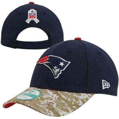 New Era New England Patriots 2013 Salute to Service 9FORTY Adjustable Hat -  Navy Blue Digital Camo  SalutetoService 2da5f803164