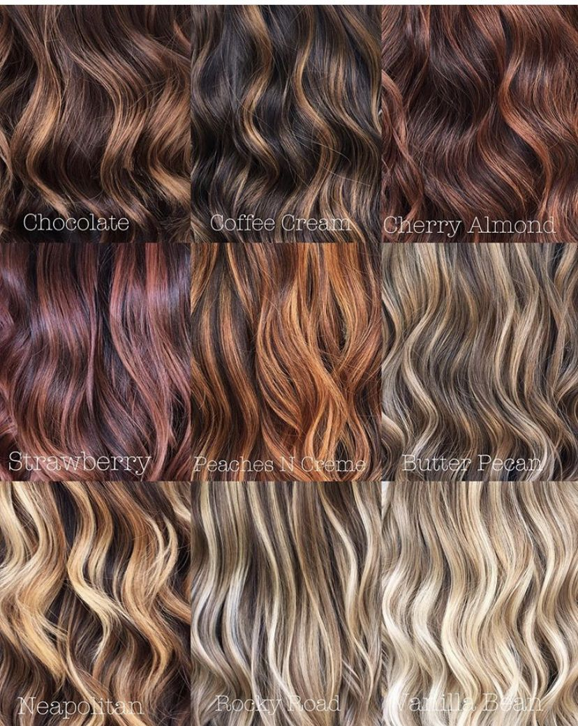 Pin By Lorraine28grant5 On Honey In 2020 Aveda Hair Color Hair Color Names Hair Color Chart
