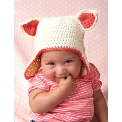 Gatito Sombrero | ideas crochet-mini | Pinterest | Gorros, Tejido y ...