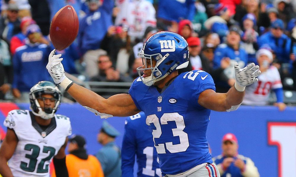 Rashad Jennings Stars In Giants' Loss To Eagles - TPS