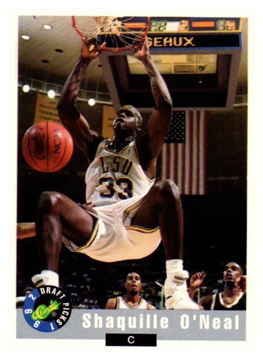 Buy 1992 Classic Draft Picks Shaquille Oneal Rookie Card