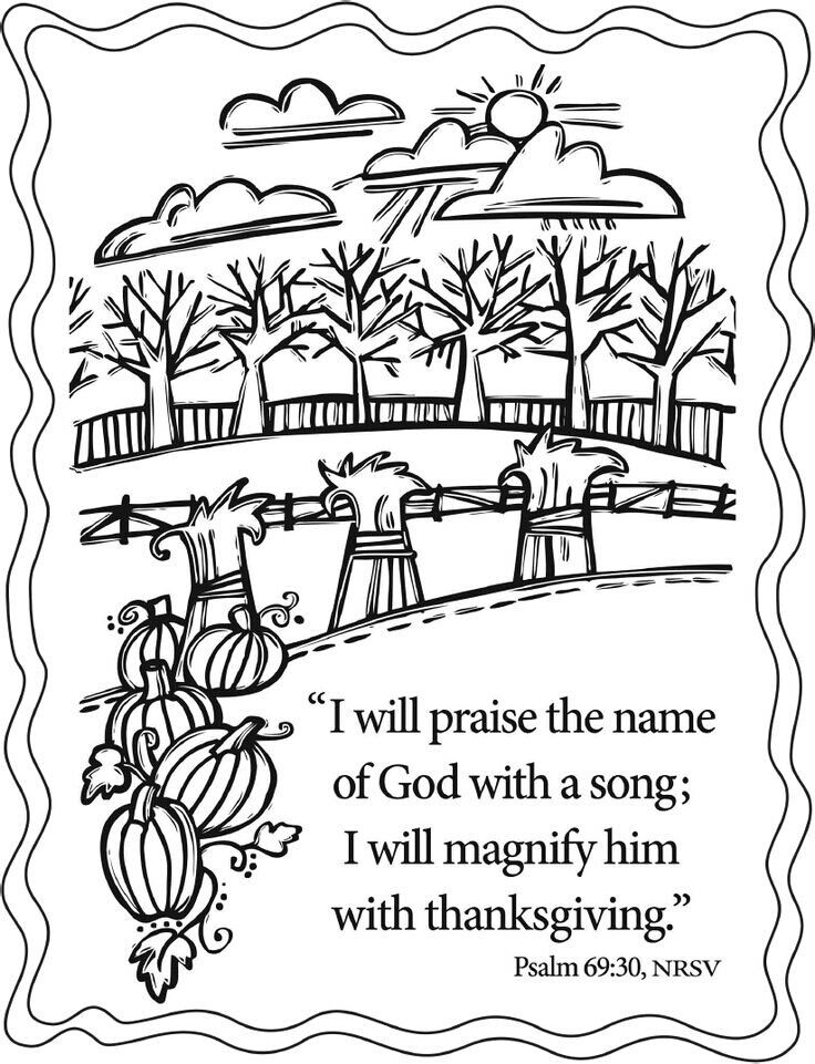 Kido Stuff | Thanksgiving coloring pages, Bible coloring ...
