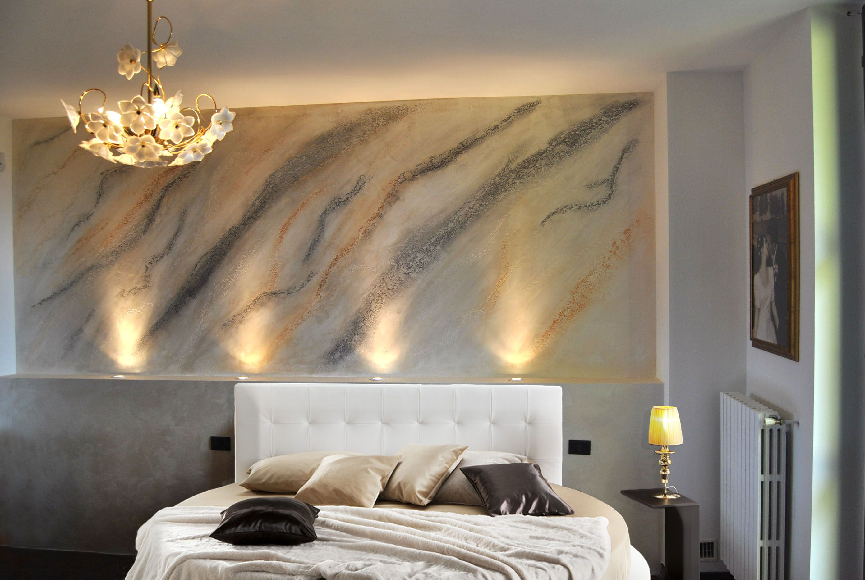realizza pareti d 39 autore pietra. Black Bedroom Furniture Sets. Home Design Ideas