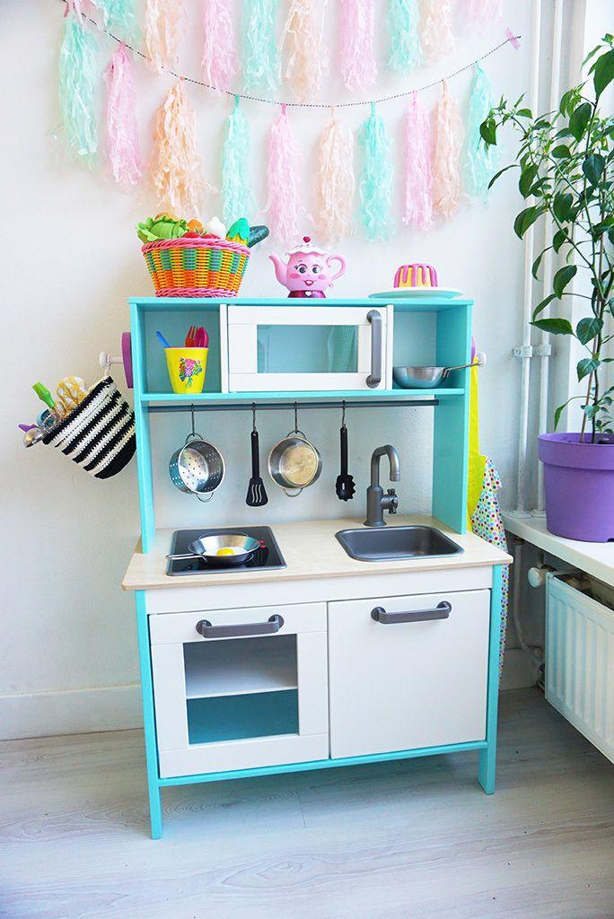 Tips & Tricks voor het pimpen van een kinderkeukentje / Ikea ...