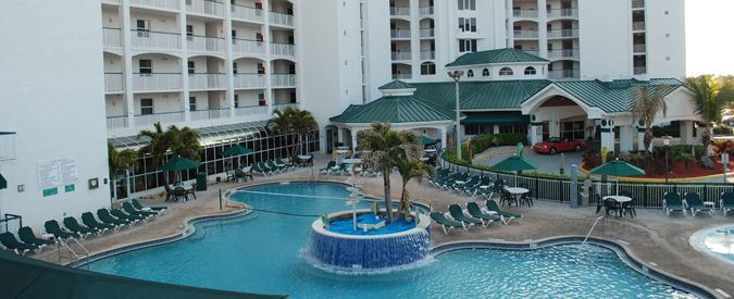 The Resort On Cocoa Beach My Favourite Place To Go At Christmas