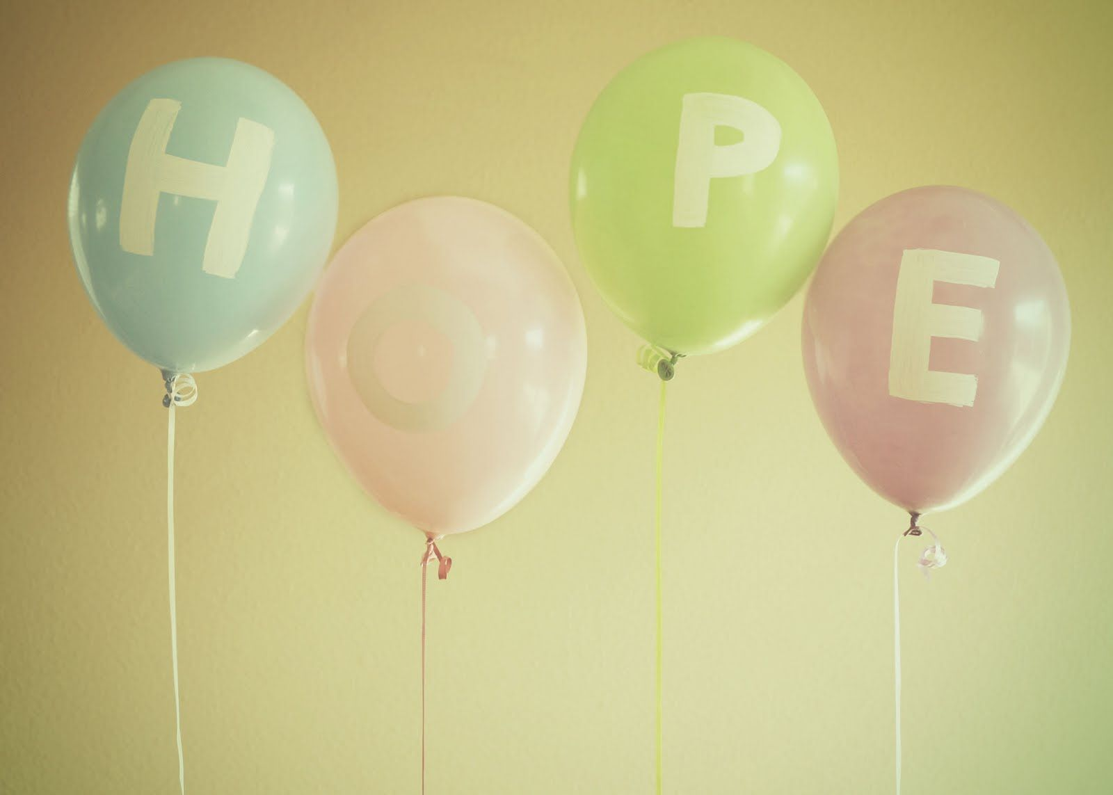 Serenity Hope Floats Balloons Inspirational Images