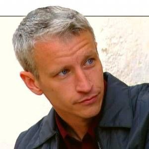 The Hottest Silver Foxes Anderson Cooper Going Gray Silver Foxes
