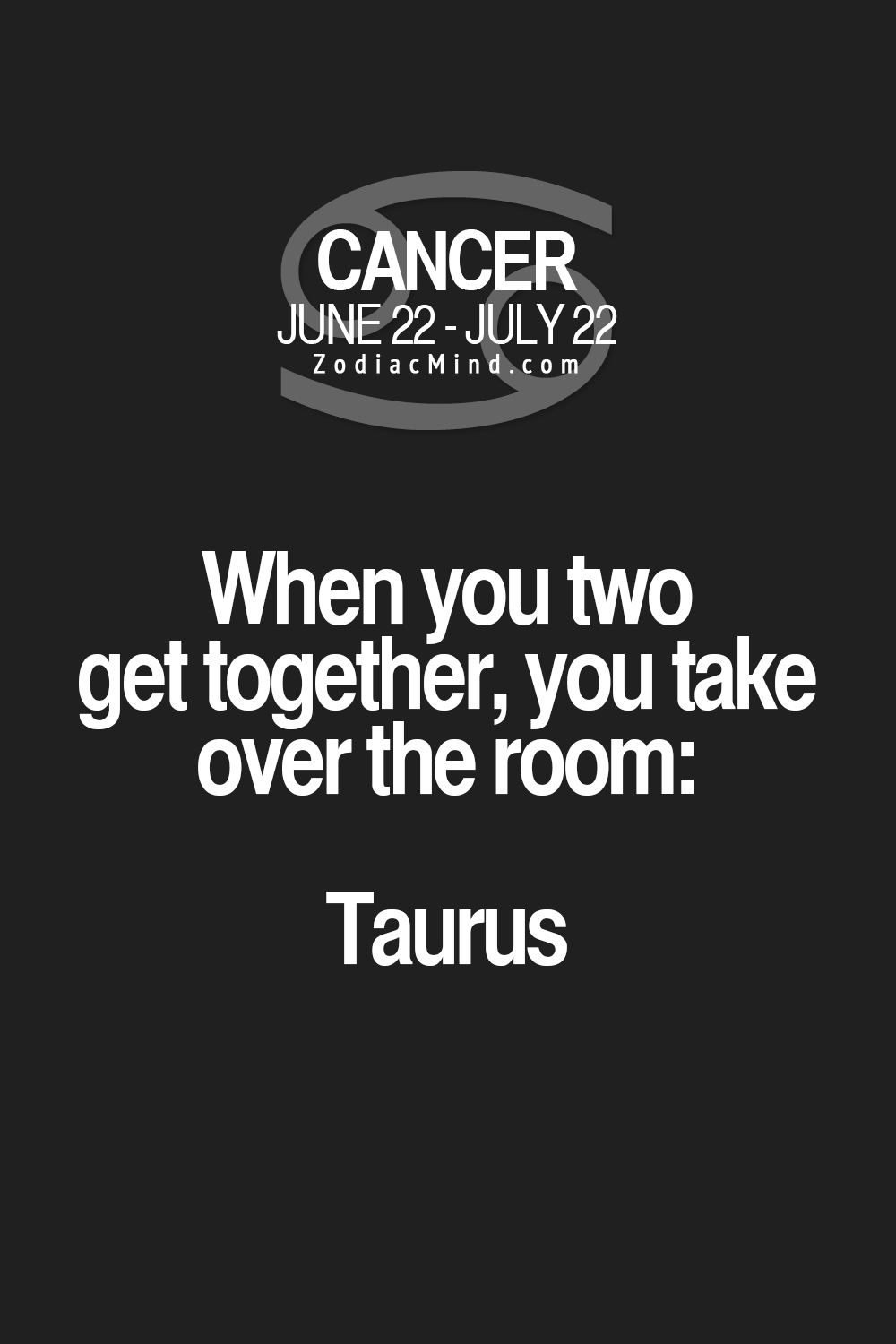 Cancer Sign Quotes I Don't Know About Taking Over A Room But My Brother Only