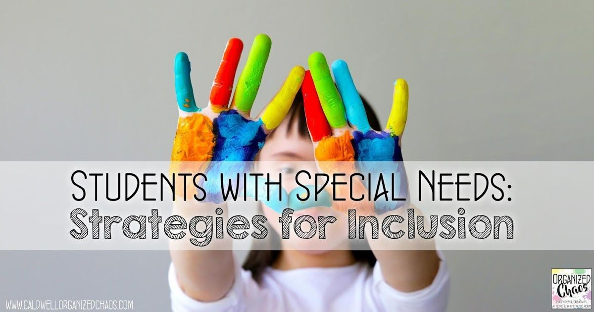 Students with Special Needs Strategies for Inclusion is part of Teaching special education, Special education students, Special needs students, Music education, Special needs, Classroom lessons - Students with Special Needs Strategies for Inclusion in the Music Room  Organized Chaos  Strategies and ideas for teaching special education students in the mainstream music classroom