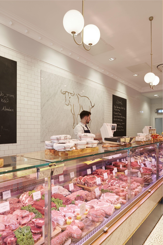 Walter Ltd hg walter butcher counter designed by tania payne interiors ltd