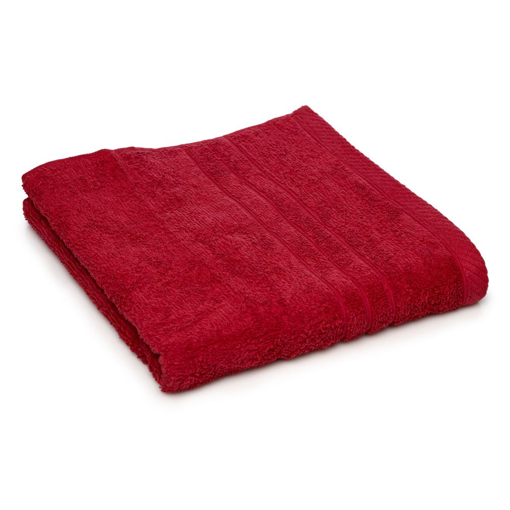 wilko bath sheet red at wilko - Red And Black Print Bath Towels