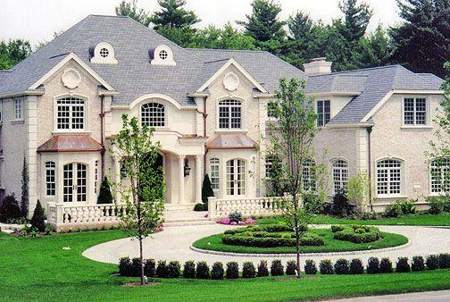 Luxury home exteriors dream home pinterest luxe woningen mooie huizen and home design for Luxury home exteriors