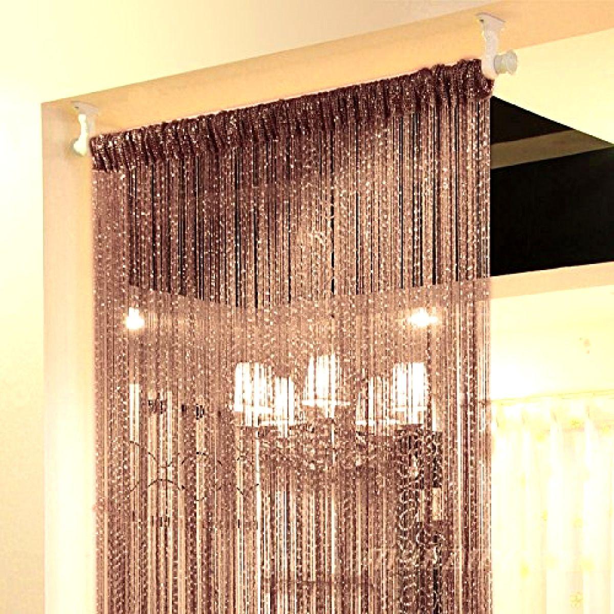 14Colors String Door Curtain Beads Room Divider Window Panel Tassel Fringe Decor