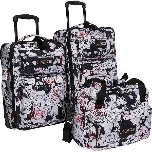 Skulls and Bacon  Skull Luggage from Jansport  ec4fbca5f1754