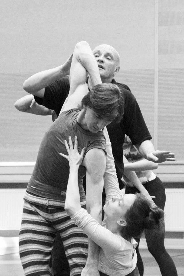 Ekaterina Krysanova And Vladislav Lantratov In Rehearsal To The