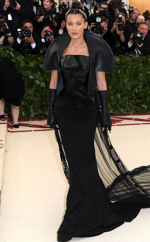 d667cf6fc49 Bella Hadid from Met Gala 2018  Best Dressed Stars to the Hit the Red Carpet  The supermodel channel the Evil Queen in the most high fashion way.
