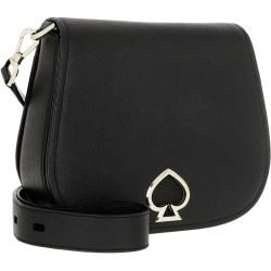 Photo of Kate Spade New York Suzy Large Saddle Bag Black in schwarz Umhängetasche für Damen Kate Spade