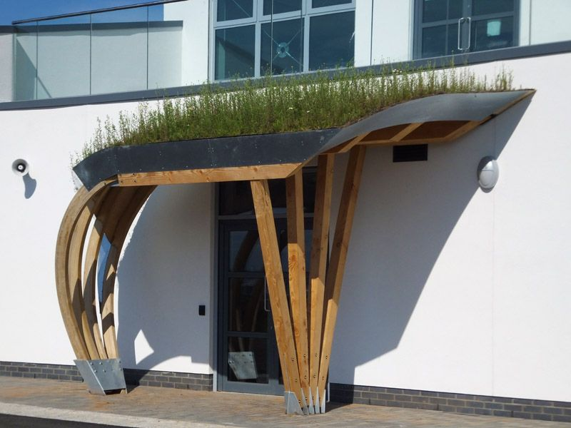 Green roof curved canopy : curved canopy - memphite.com