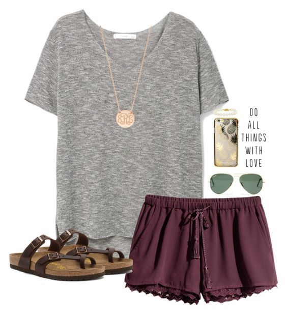 35b17dee0b58 150 pretty casual shorts summer outfit combinations (112) Casual Summer  Fashion