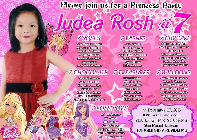 Sample 7th Birthday Invitation Koran Sticken Co
