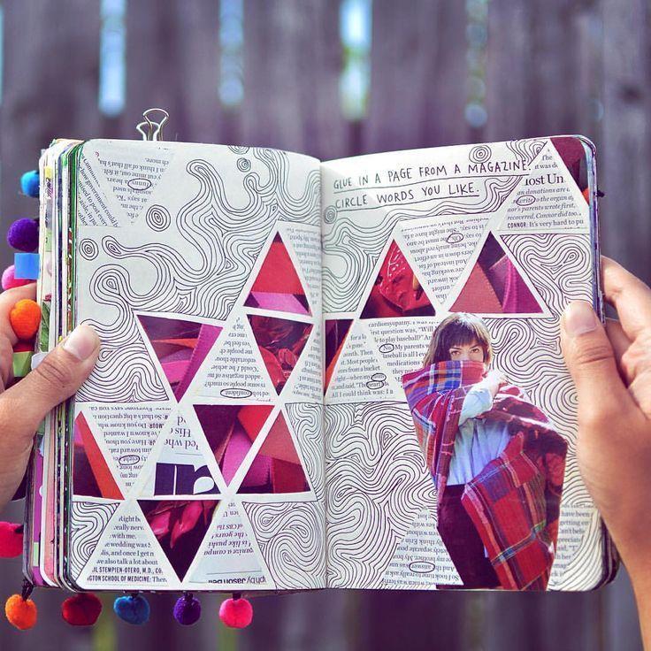 Eine Kunstzeitschrift oder ein Sammelalbum führen. Ideen und Inspiration für Reisejournal - #ein #eine #Führen #für #Ideen #inspiration #Kunstzeitschrift #oder #Reisejournal #Sammelalbum #und #artjournalinspiration