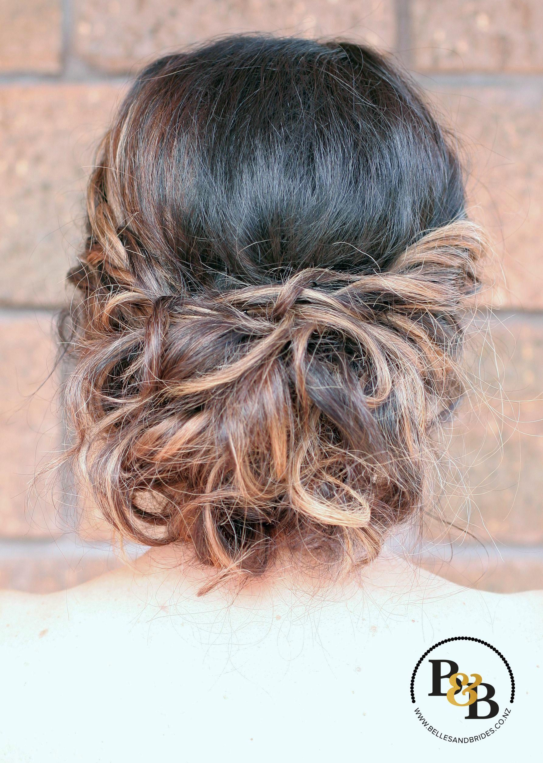 Casual Bridal Updo Soft And Messy Bridal Updo Bridesmaid Hair