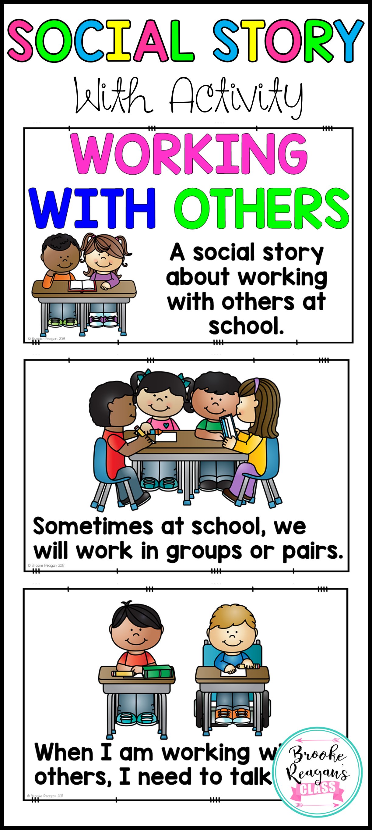 Social Story Working With Others