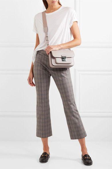 a3779c2aca90 MICHAEL Michael Kors | Sloan Editor large leather shoulder bag |  NET-A-PORTER.COM