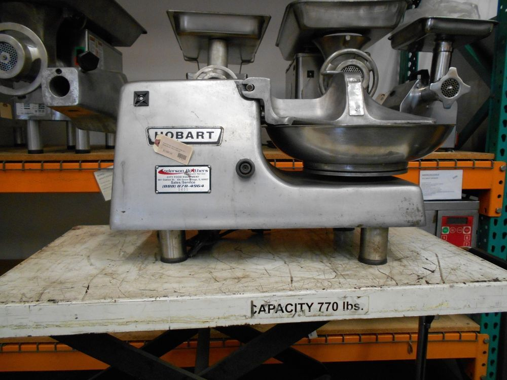 Hobart 84145-1 Commercial Food Cutter/Buffalo Chopper