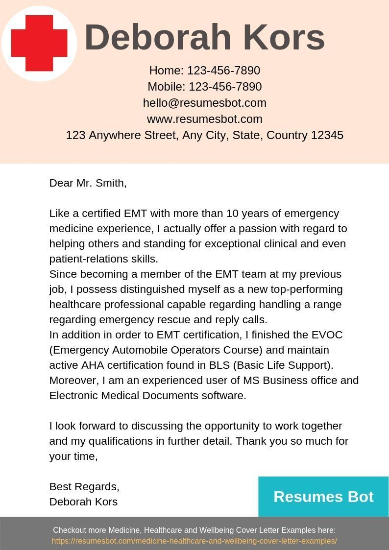Resume examples Cover letter example Lettering