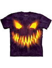 NEW NWT Eerie Halloween Haunt Creepy Big Face Jack O Lantern T-Shirt 3X