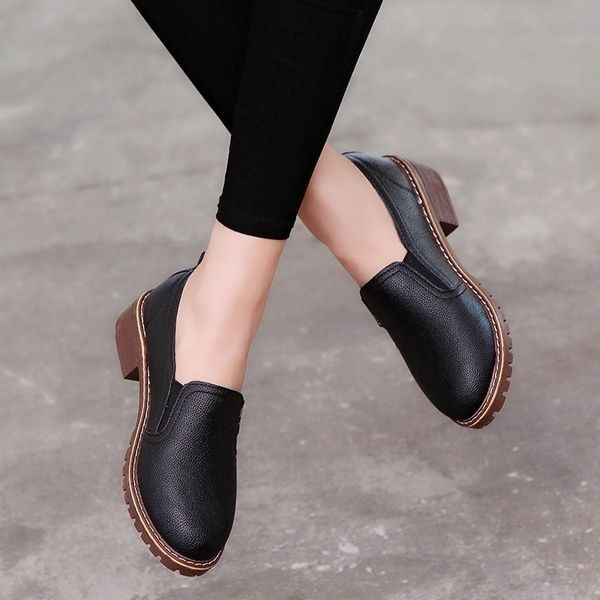 New Arrival Women Flat Shoes Oxford Shoes Genuine Leather Shoes Size 3543   Wish is part of Flat shoes women - Buy New Arrival Women Flat Shoes Oxford Shoes Genuine Leather Shoes Size 3543 at Wish  Shopping Made Fun