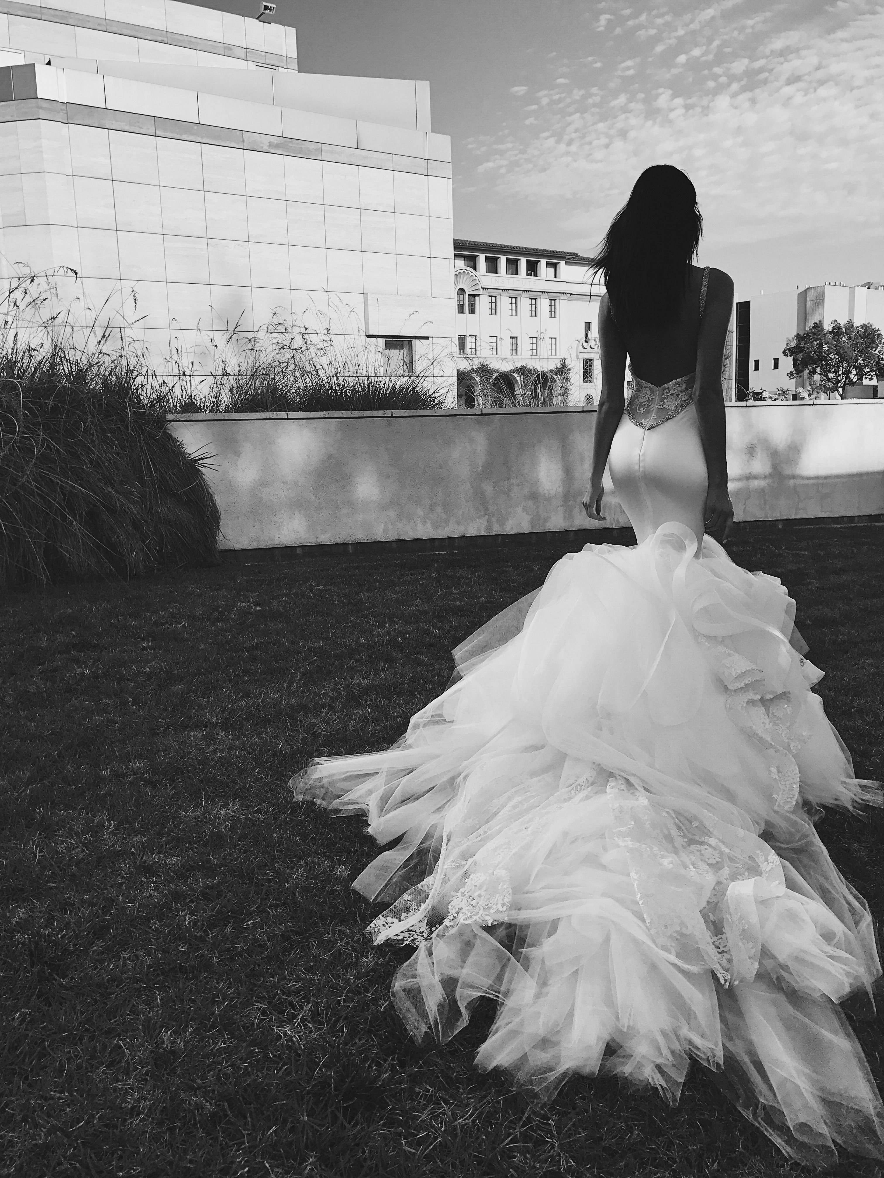 Wedding dresses cheap los angeles  Mermaid out of water Behindthescenes shooting the new Lauren