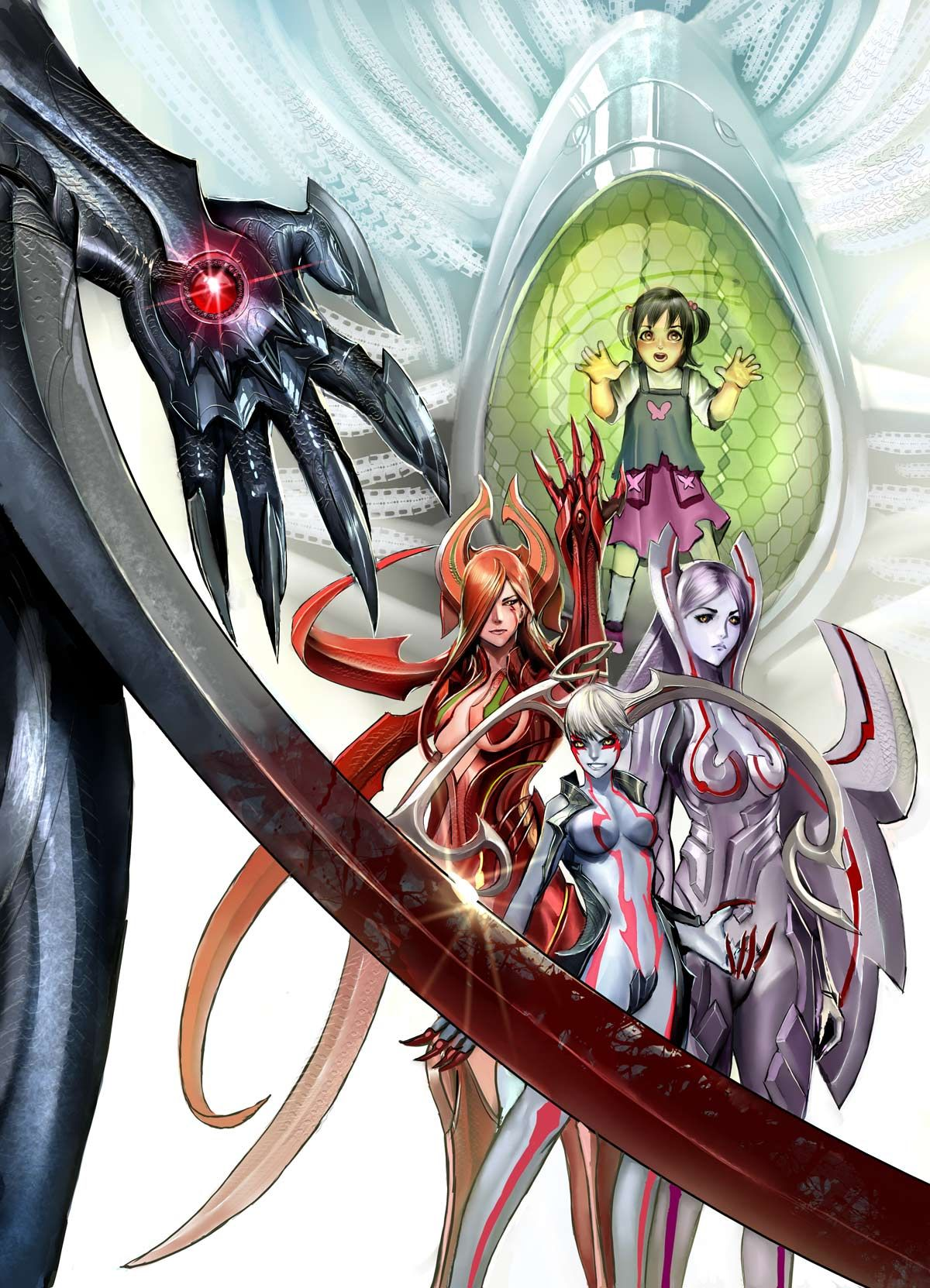 Witchblade anime dvd cover by nebezial on deviantart