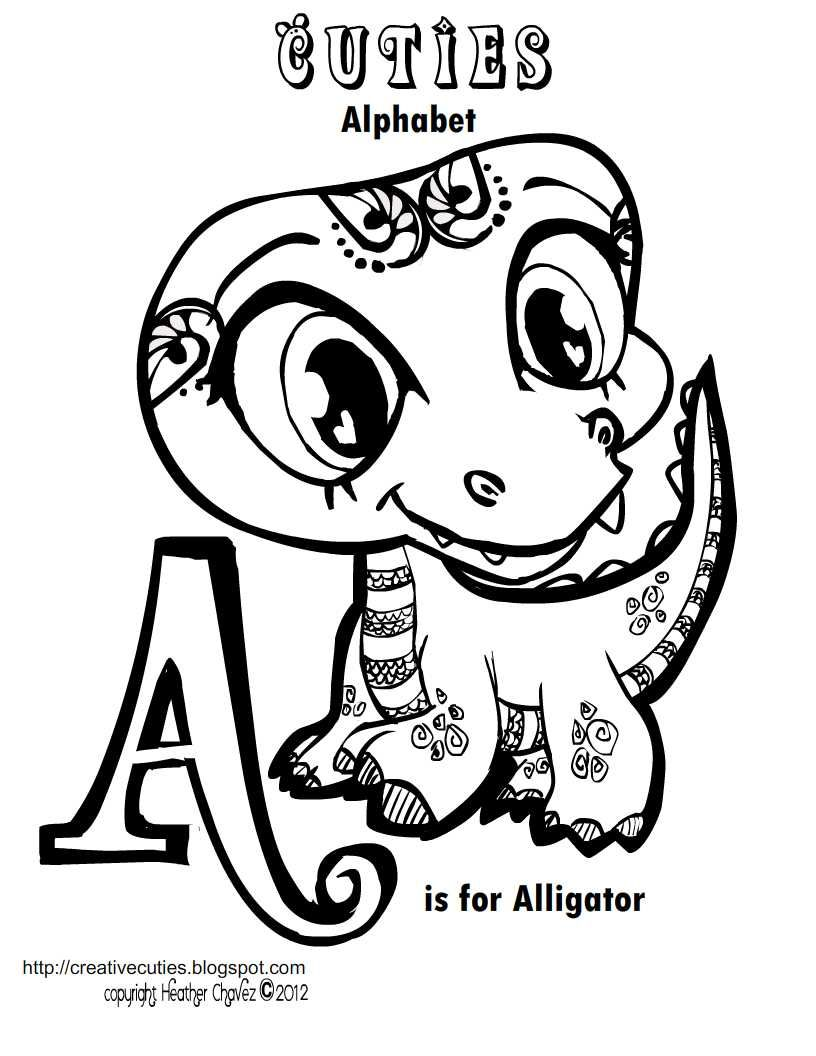 images about printables on pinterest cute coloring pages deer and creative - Alligator Coloring Pages Printable