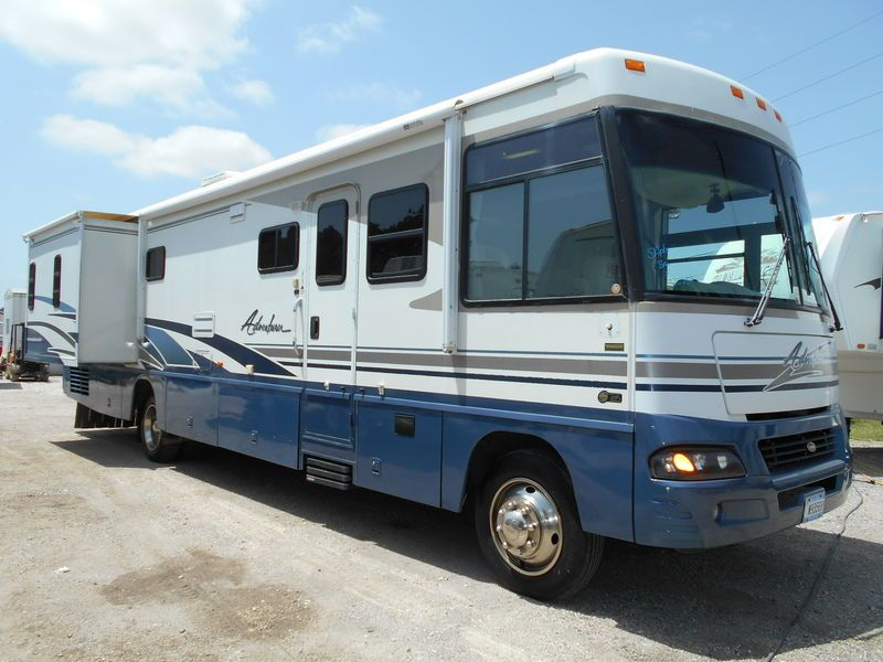 2003 Winnebago Adventurer 38g For Sale Humble Tx Rvt Com Classifieds Winnebago Rvs For Sale Recreational Vehicles