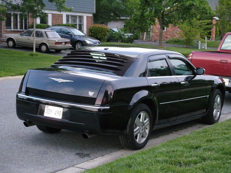 san francisco 54eca 45d0f Rear window louver Chrysler 300 Srt8, Rear Window