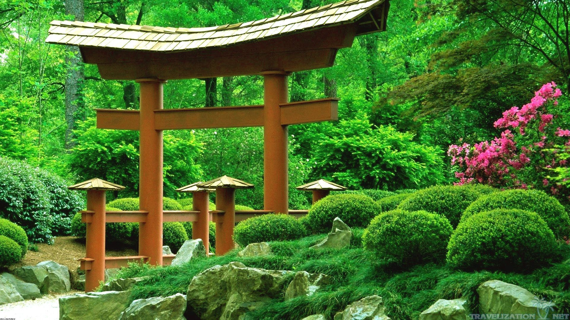 Taoian Japan Garden Wallpapers 1920x1080 With Images Japanese