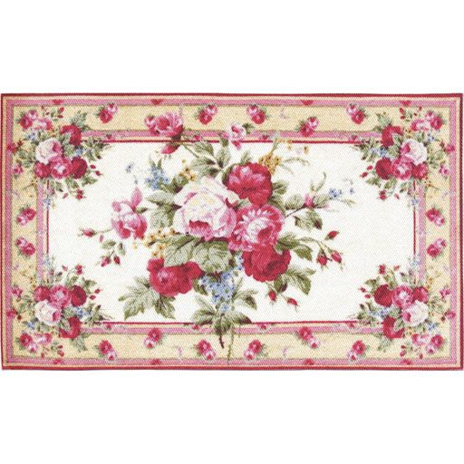 Pastel Cabbage Rose Rug Rugs Rugs On Carpet Cabbage Roses