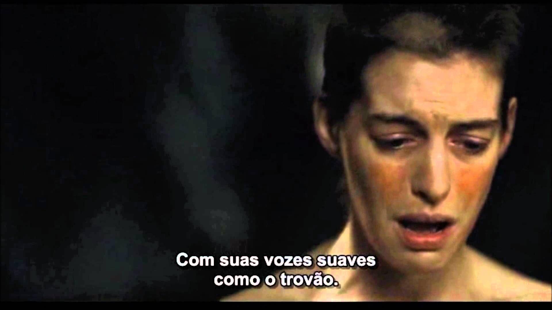 Anne Hathaway Cantando I Dreamed A Dream Os Miseraveis Musica