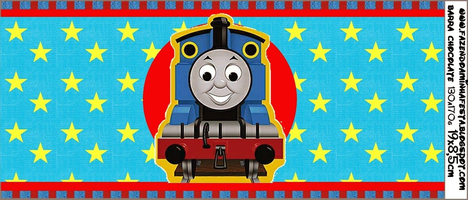 Thomás el Tren: Etiquetas para Imprimir Gratis.   temática de ...