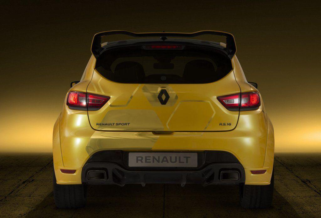 Clio Rs 16 Motor 20 Turbo E 275 Cv No Renault Mais Rpido De