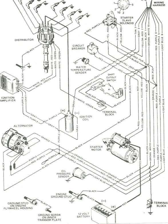 16+ Mercruiser 140 Engine Wiring Diagrammercruiser 140