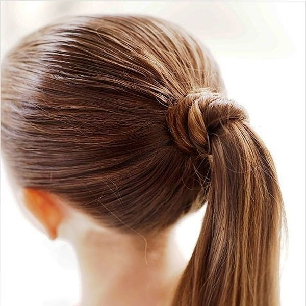 Pretty Hairstyles for Daughter's Long Hair