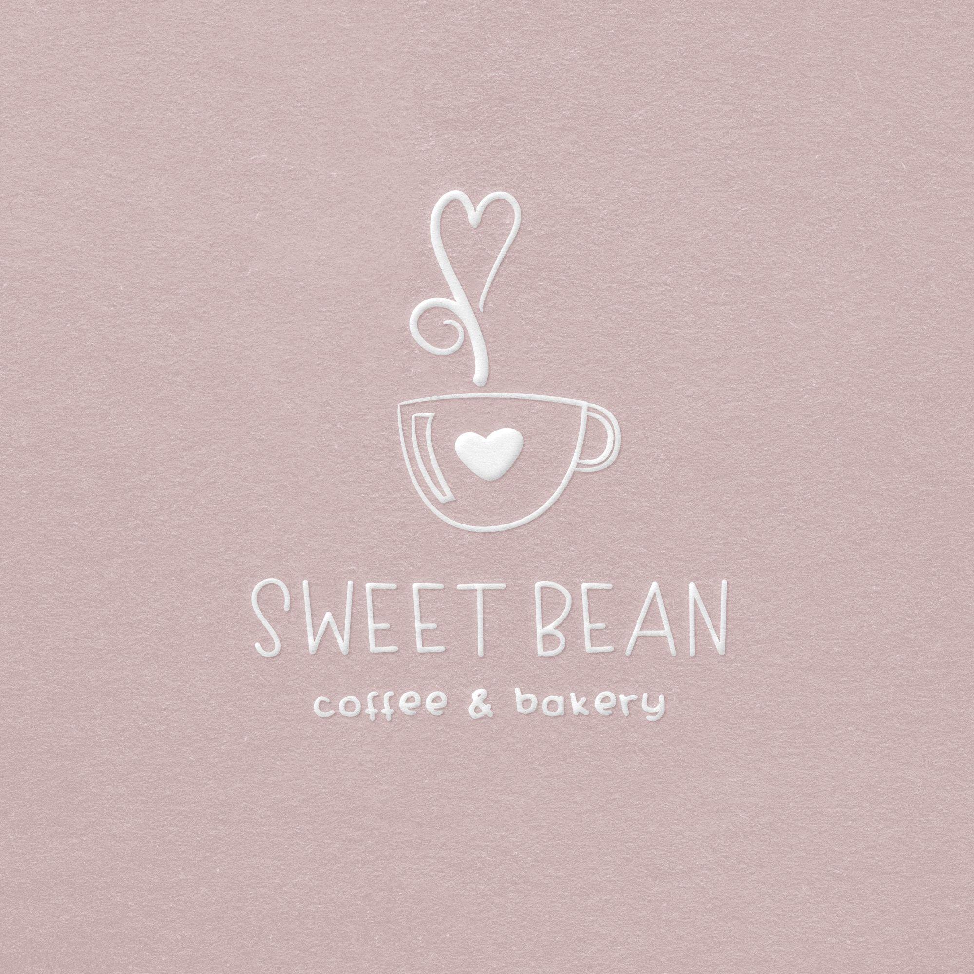 Coffee Mug Heart Premade Logo Design Coffee Cafe Logo Coffee