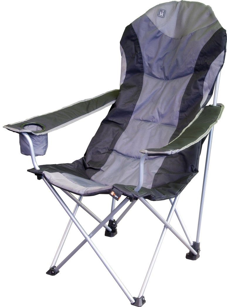 Comfortable camping chairs - Very Comfortable Padded Folding Chair With An Insulated Drinks Holder