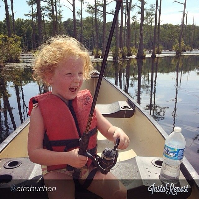 Catchin' a big one at Goodale State Park #scstateparks