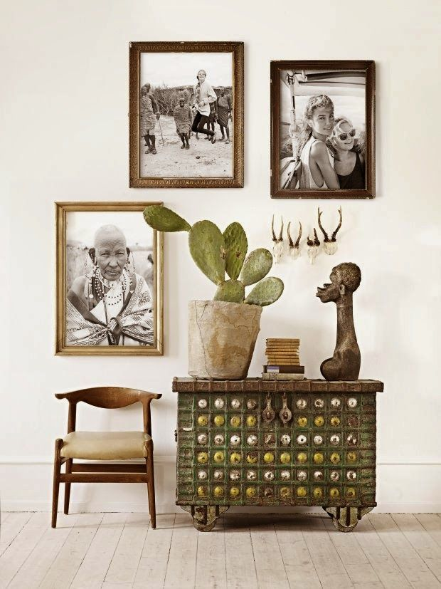 Ethno Style, Konfetti, Drinnen, Wohnraum, Wandgestaltung, Rahmen, Zuhause,  Wohnzimmer, Deko